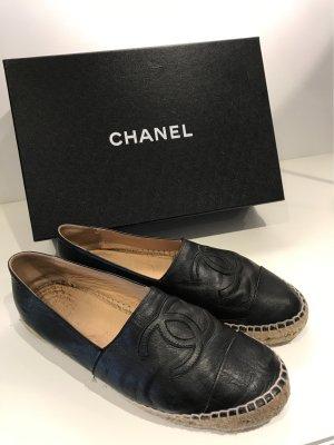 Chanel Scarpa slip-on nero