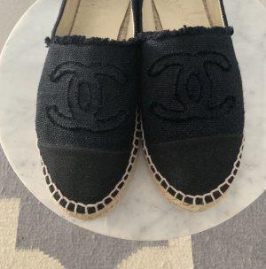 Chanel Slip-on Shoes black