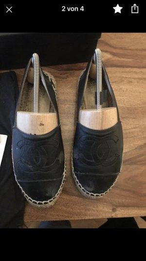 Chanel Espadrilles schwarz Orginal !