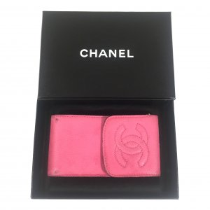 Chanel Mini sac rose cuir