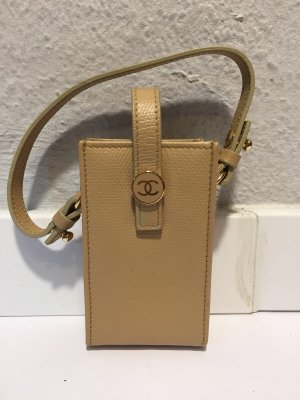 Chanel Custodia per cellulare giallo chiaro