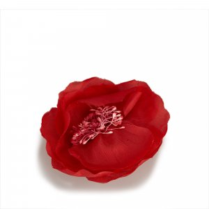 Chanel Broche rouge