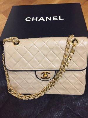 Chanel flap bag Creme/ Beige