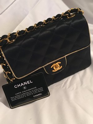 Chanel Flap Bag Jersey Mini