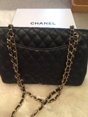 Chanel Bandolera negro-marrón arena Cuero
