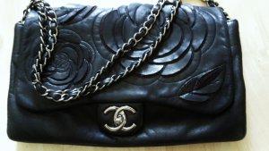 Chanel Bandolera negro Cuero