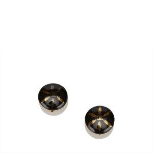 Chanel Boucle d'oreille noir