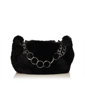 Chanel Fur Chain Handbag