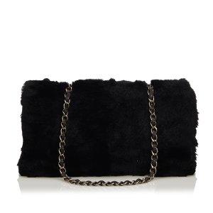 Chanel Fur Chain Shoulder Bag
