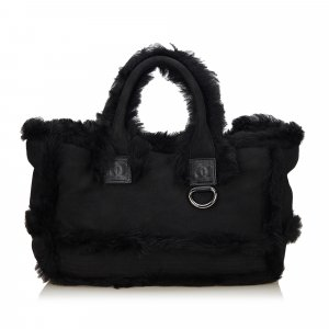 Chanel Fur Tote Bag
