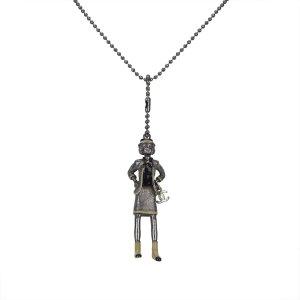 Chanel Gabrielle Coco Charm Necklace