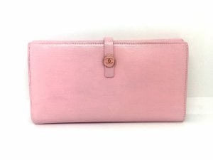 Chanel Portefeuille rose clair