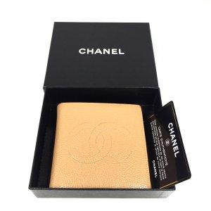 Chanel Portafogli beige Pelle