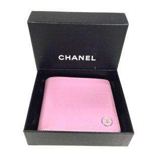 Chanel Portemonnee veelkleurig Leer