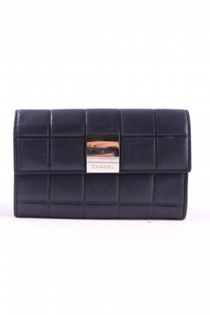 Chanel Wallet dark blue quilting pattern vintage products