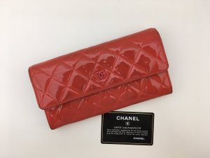 Chanel Geldbörse Lackleder