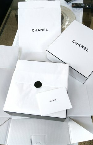 Chanel Tocado blanco-negro