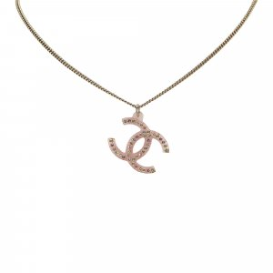 Chanel Gold Tone CC Necklace