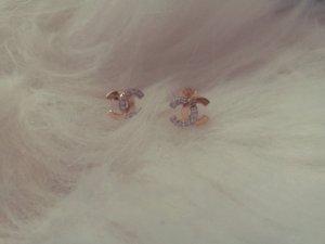 Chanel goldene ohrringe