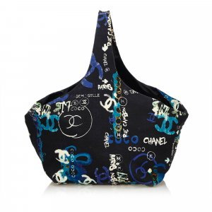Chanel Graffiti Cotton Tote