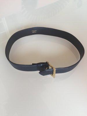 Chanel Cinturón azul oscuro