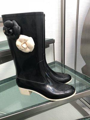 Chanel Botas de agua negro