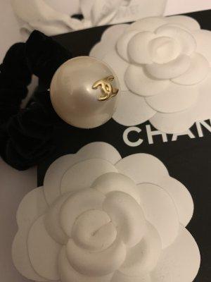 Chanel Haaraccessoires zwart-wolwit