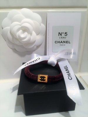 Chanel Haargummi,Haarschmuck Neu Farbe Braun/Gold