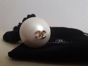 Chanel Paraorecchie bianco-nero