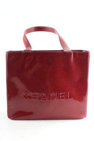 Chanel Borsetta rosso scuro elegante