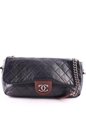 Chanel Handtasche schwarz-braun klassischer Stil