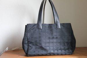 Chanel Borsa larga nero Fibra tessile