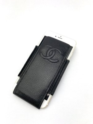 Chanel Mobile Phone Case black