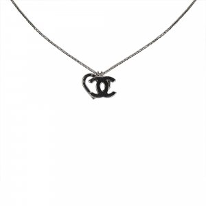 Chanel Collar color plata metal