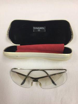 Chanel: helle beigebraune Sonnenbrille