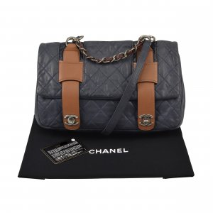 """Chanel """"In The Mix"""" Messenger Quilted Leather Bag @mylovelyboutique.com"""