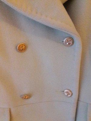 chanel jacke mint kleeblattknöpfe mantel