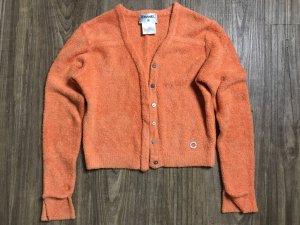 Chanel Jacke orange Gr 36