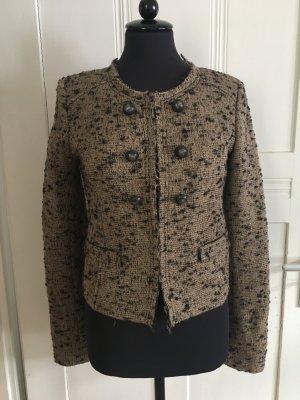 Rich & Royal Tweed blazer veelkleurig Wol