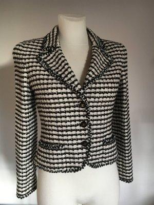 Chanel Jäckchen schwarz weiß