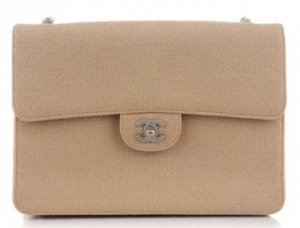 Chanel Jersey Jumbo Single Flap