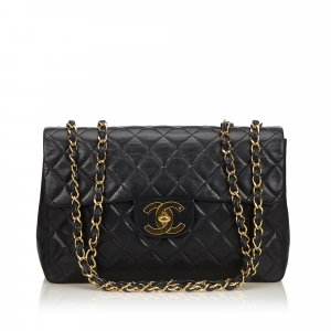 Chanel Jumbo Lambskin Classic Single Flap