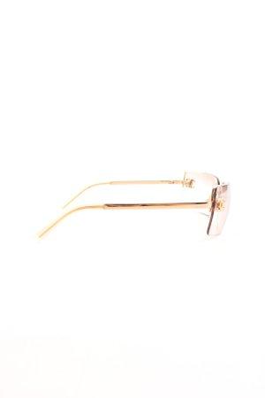 Chanel Karée Brille pink-goldfarben Business-Look