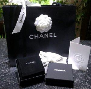 Chanel Minibolso negro-blanco