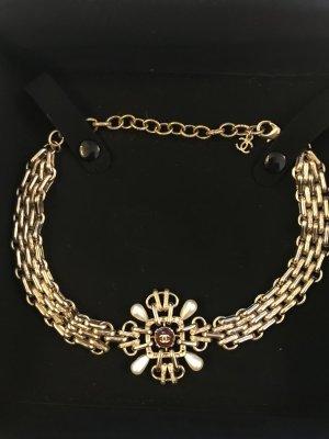 Chanel Catena bordeaux-bronzo