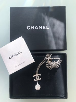 Chanel Collier argenté