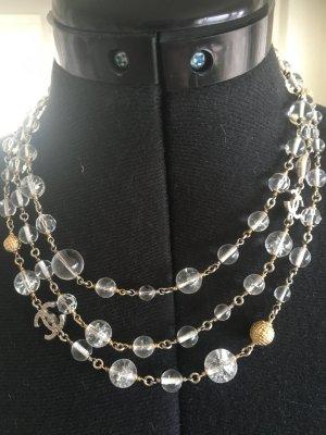 Chanel Ketting zilver-goud