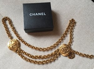 Chanel Chain Belt bronze-colored metal