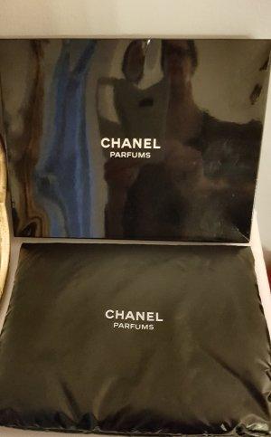 Chanel Canvas Bag white-black