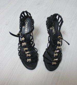 Chanel Sandales à talons hauts noir